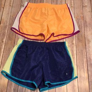 Running shorts lot